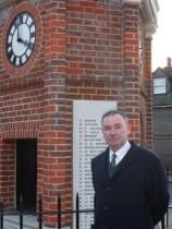 Jon Cruddas MP @ the Rainham War Memorial