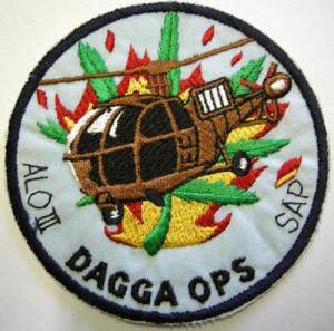 Dagga OP SAPS Air Force Patch