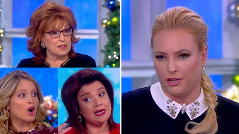 Feature Photo credit to screen capture and Dagger News. Meghan McCain on The View.)