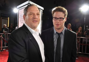 "(Photo Credit to Zimbio Premiere Of Weinstein Company's ""Zack And Miri Make A Porno"" - Arrival/Seth Rogan and Harvey Weinstein)"