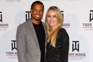 Photo courtesy of NY Daily News. Celebrities with nude leaked photos. Tiger Woods and Lindsey Vonn.