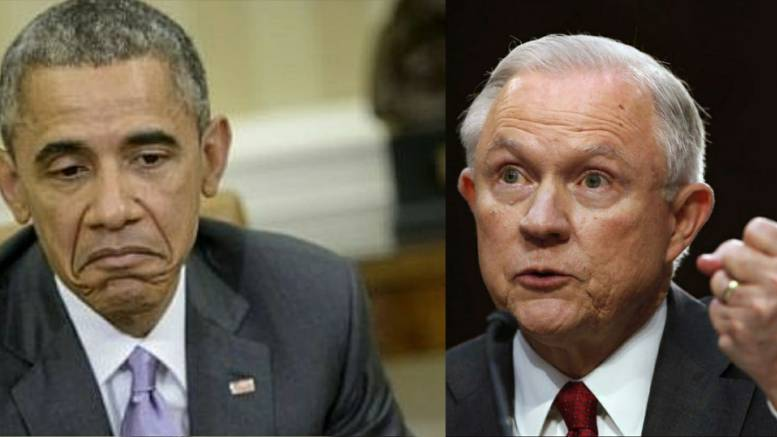 Feature photo credit: AFP PHOTO/BRENDAN SMIALOWSKI), Yahoo Finance, Dagger News Compilation. The DOJ, AG Session's created the HFNT and is hot on the trail of the Obama-era corruption.