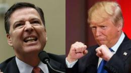 POTUS and Comey tweet on the FISA Memo release to the public. Photo credit to Slate and Medium and compilation by Dagger News.