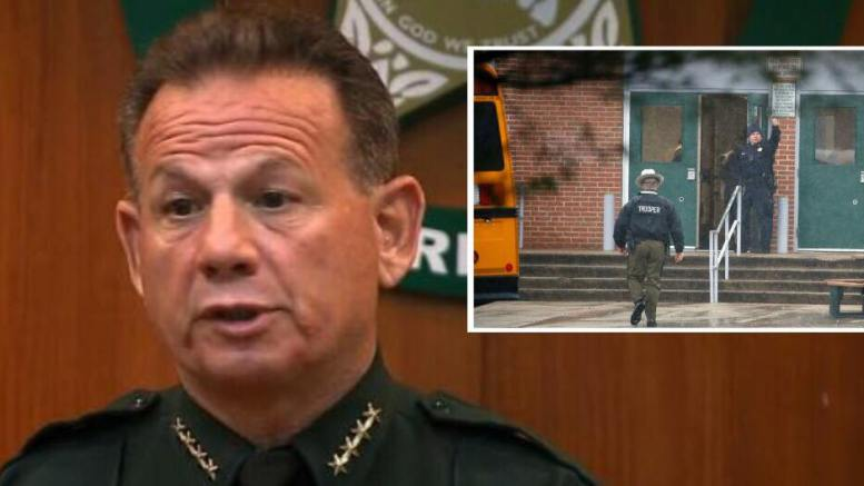 Deputy Blaine Gaskill stopped gunman at Great Mills High School. Photo credit CNN, ABC, Dagger News Compilation.