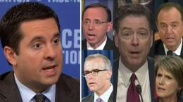 Devin Nunes wants subpoenaed un-redacted documents! No-one is above the law! Photo credit to Misc and Gateway Pundit screen capture compilation by Dagger News.
