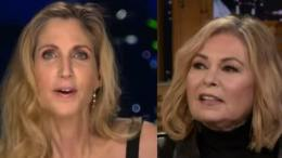 Ann Coulter on Ingraham Angle regarding Roseanne. Photo credit to Dagger News screen grab compilation.