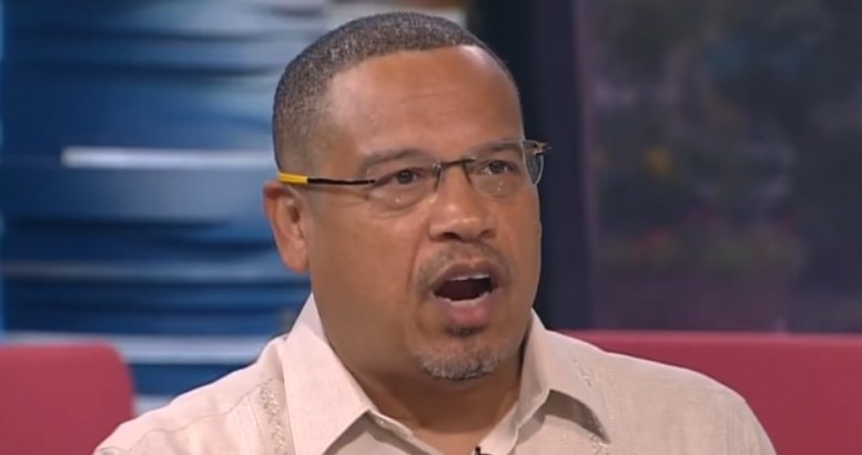 Keith Ellison is DENIED. Photo credit to Dagger News compilation with WCCO - Minnesota Screen Shot.