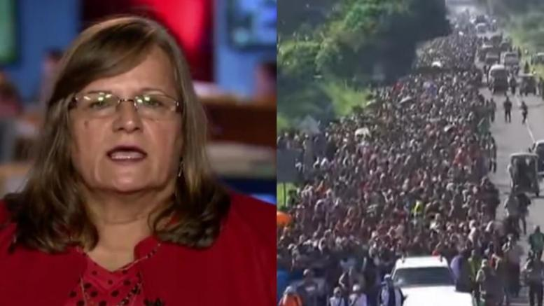 Angel Mom speaks out in support of President Trump and First Lady Melania. Photo credit to Dagger News compilation with screen grabs.