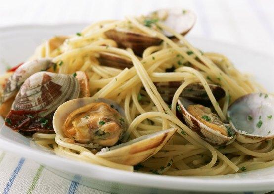 Te apetece spaghetti alle vongole???