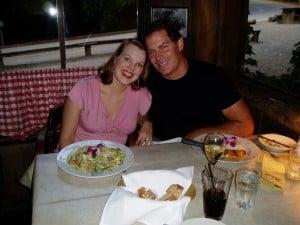 Pregnant bliss in Santa Barbara, 2006