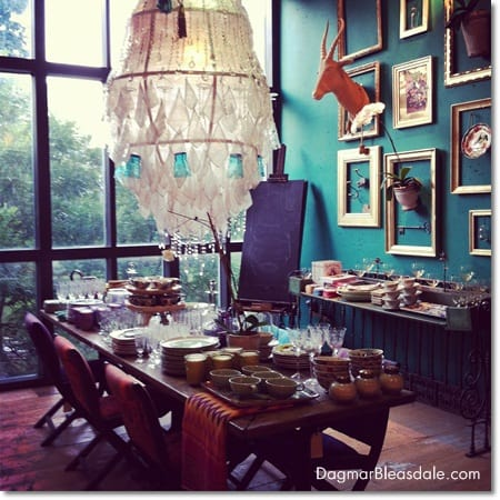 Interior design inspirations from my anthropologie visit for Anthropologie store decoration ideas