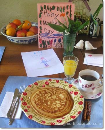 Dagmar's Home: Mother's Day breakfast