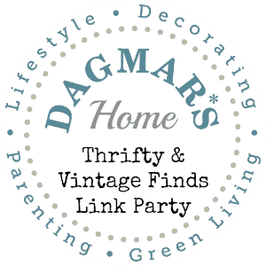 "Dagmar's Home ""Thrifty & Vintage Finds"" Link Party logo"
