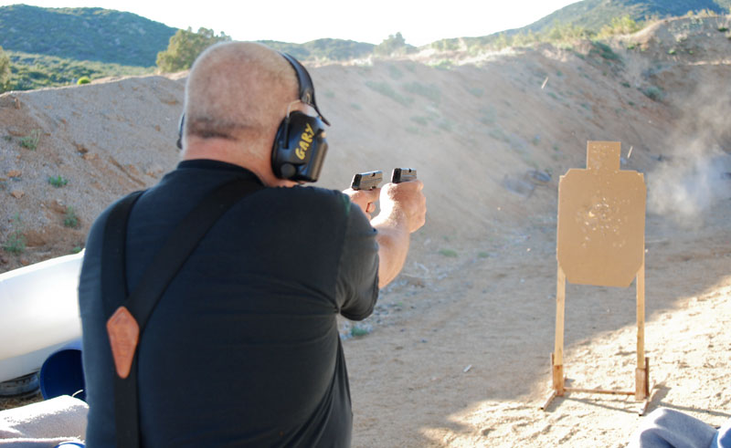 LCP Gary Shooting Gunfighter Style