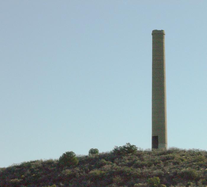 Old smelter chimney Mayer AZ