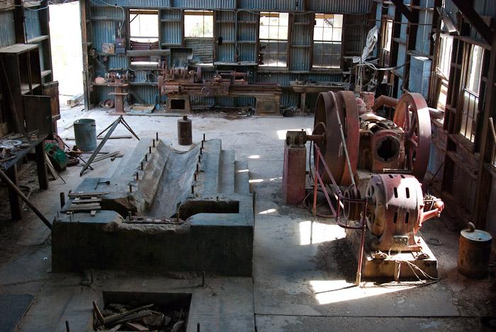 Vulture Mine Inside Power Generating Plant