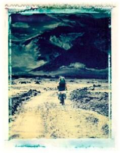 on the road to asjka - polaroid dye transfer by stephen d'agostino