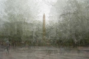 Washington Monument In The Round by Stephen D'Agostino. An example of photo impressionism using the in the round montage technique.
