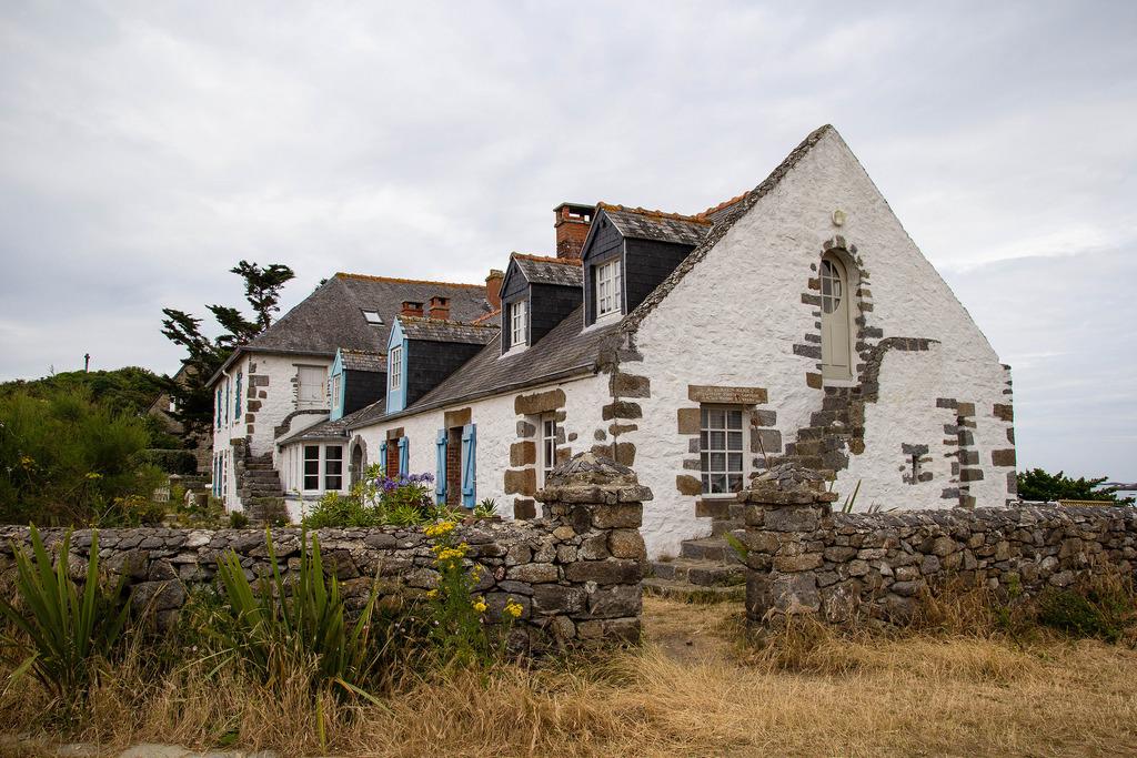 Une belle maison typique normande.