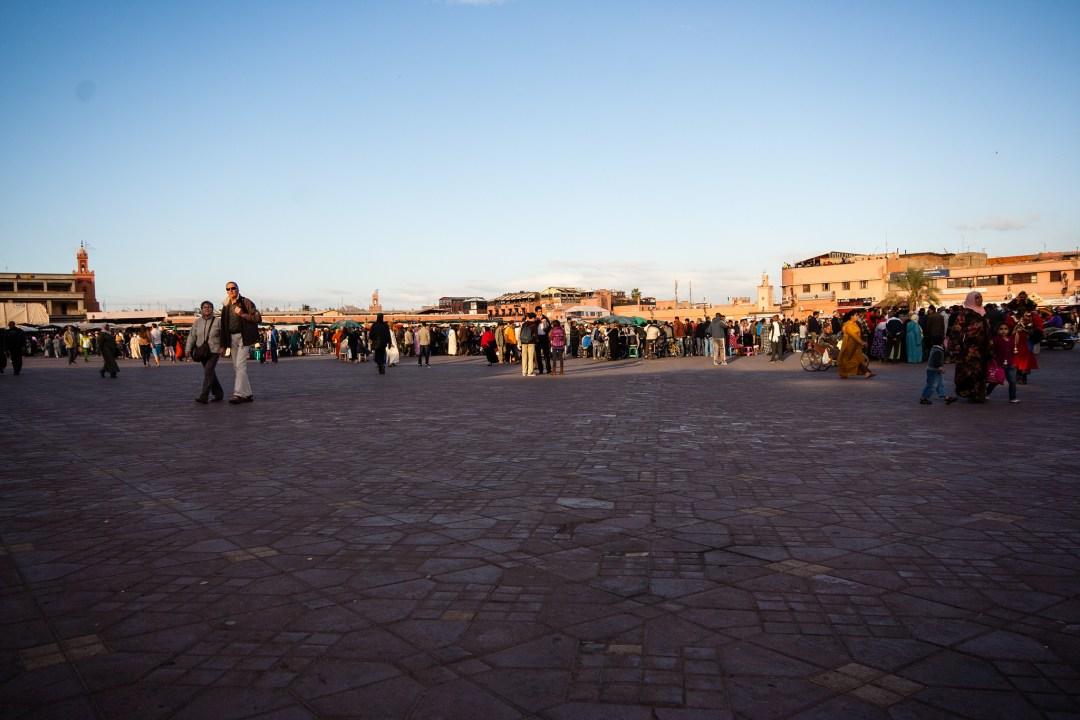 Place Jemaa El Fna, Marrakech.