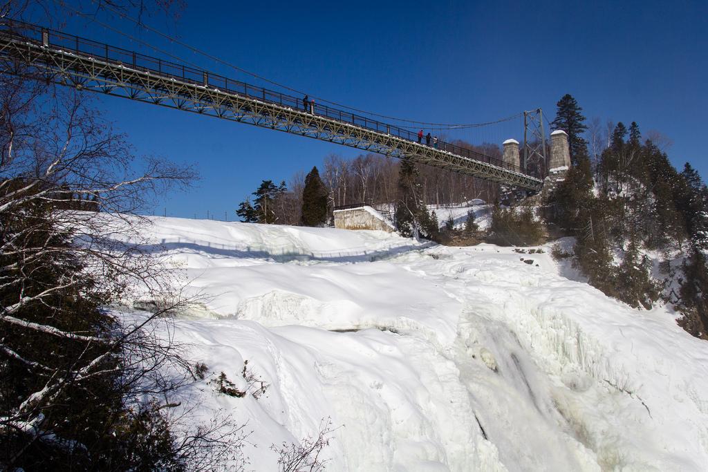 Vue de la chute de Montmorency, du belvédère.