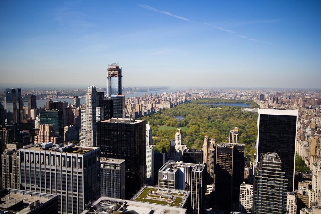 New-York vue d'en haut, avec Central Park.
