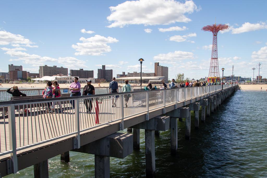 Jetée de Coney Island.