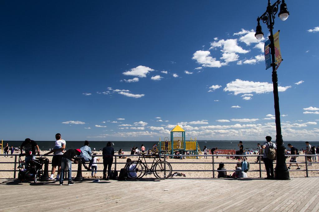 Promenade sur Coney Island.
