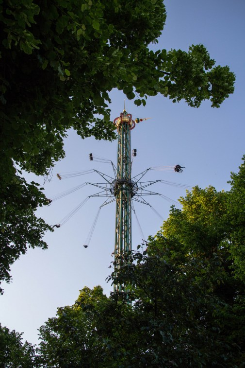 Attraction du Parc de Tivoli.