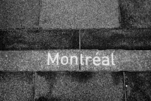 Montréal au sol.