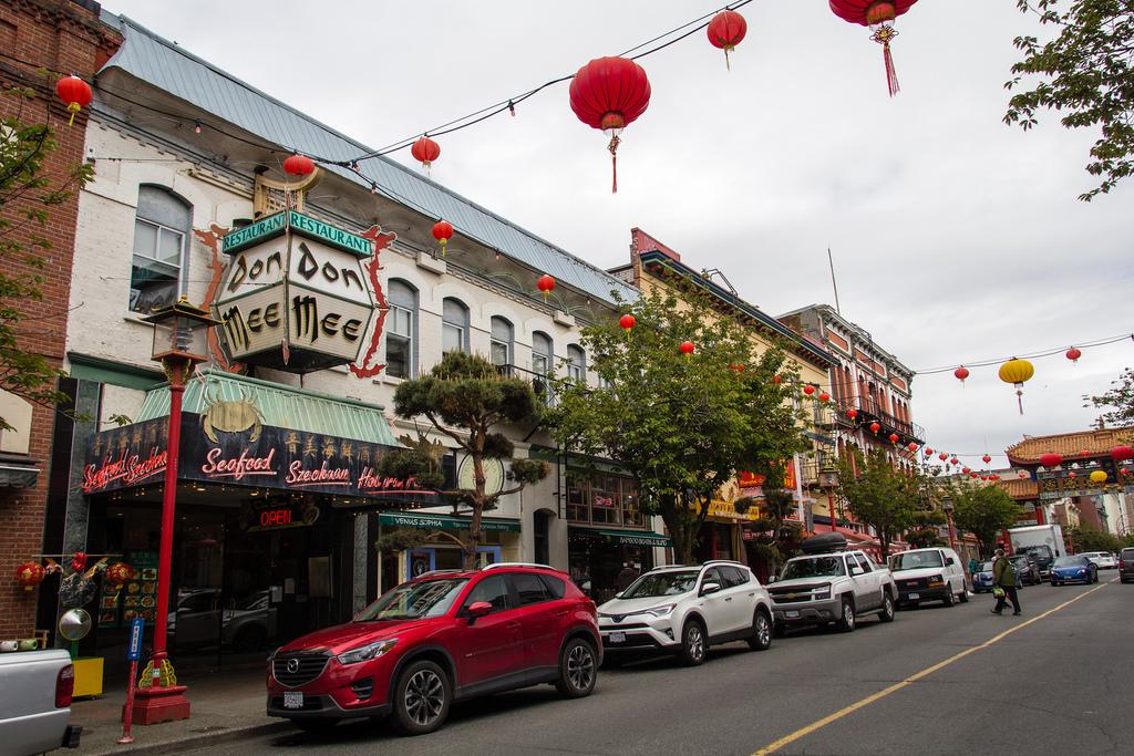 Le China Town de Victoria, Colombie Britannique.