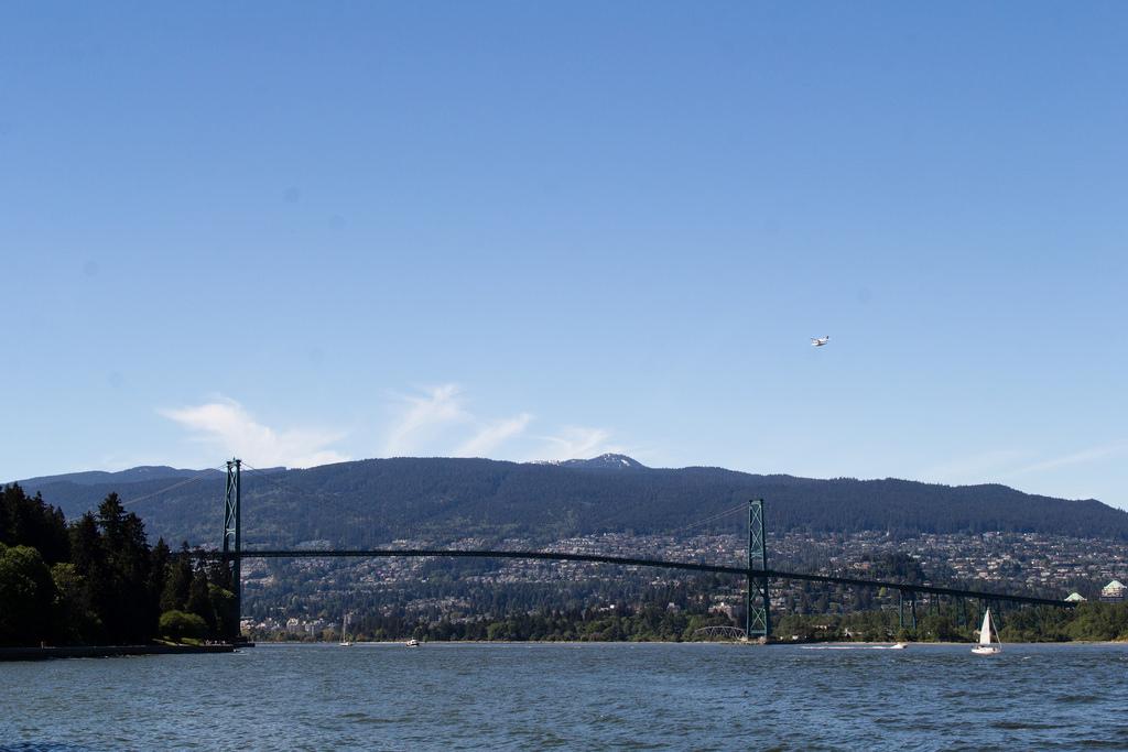 Lions Gate Bridge, emblème de Vancouver City.