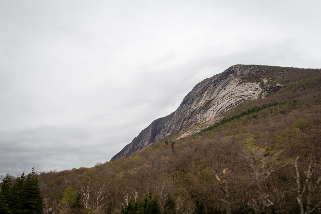 Petit sommet dans les White Mountains.