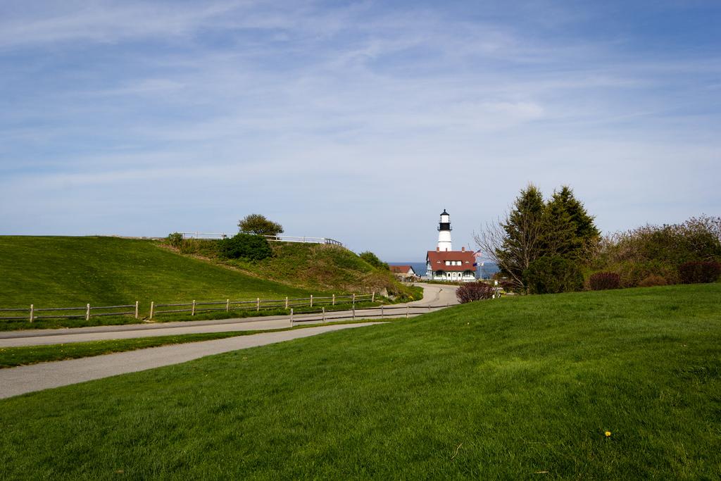 Phare de Portland, cap Elizabeth dans le Maine.