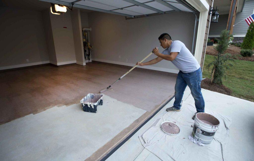 Granite Grip Garage Floor Coating October 2017  DAG