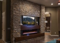 Custom Contemporary Entertainment Center - DAGR Design