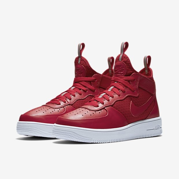 Picture of a red trainer