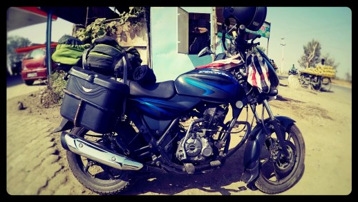 travel light by motorcycle, dagsvstheworld