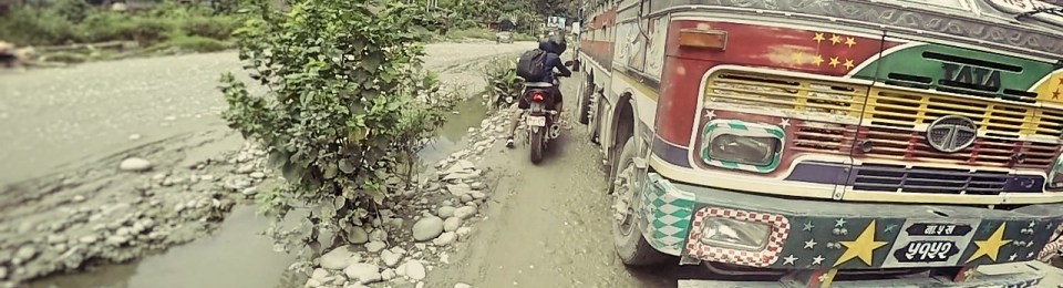 Nepal: Prithvi Highway- Pollution, Potholes and the Road to Freedom.