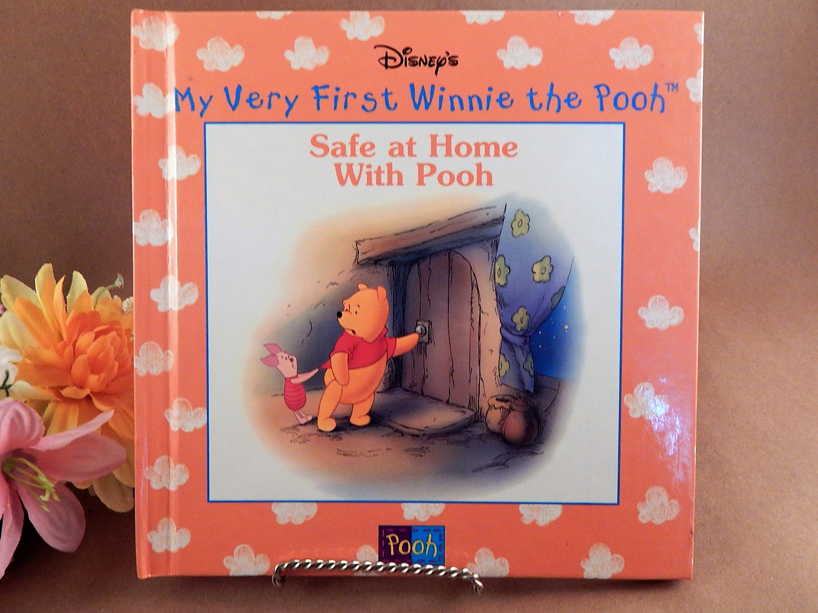Book Safe at Home With Pooh Disneys My Very First Winnie the Pooh Vintage 198 Illustrated Animal Picture Story Hardback Gift Book for Children Eeyore