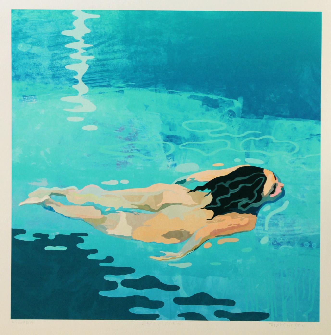 Rino Larsen –  Swimmer