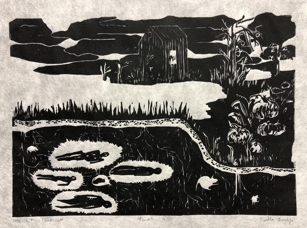 Embla Maria Øverbye – Pond/tjern