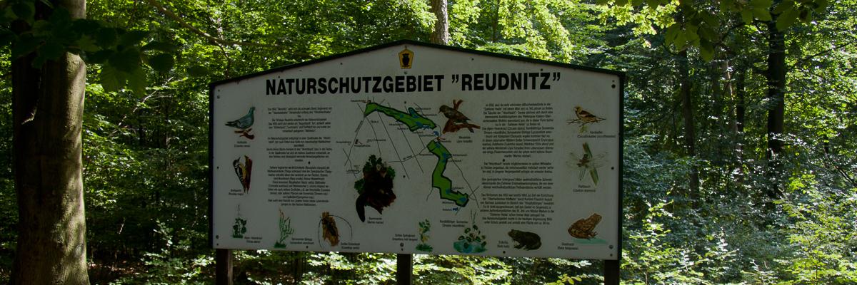Von Reudnitz zur Jägereiche und zurück