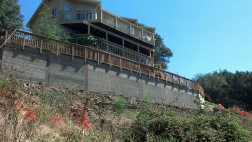 Hillside stabilization