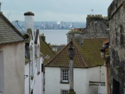 Cycle Route 76 - View of Grangemouth from Culross