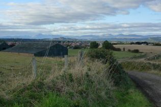 Cycle Route 76 - View of Stirling