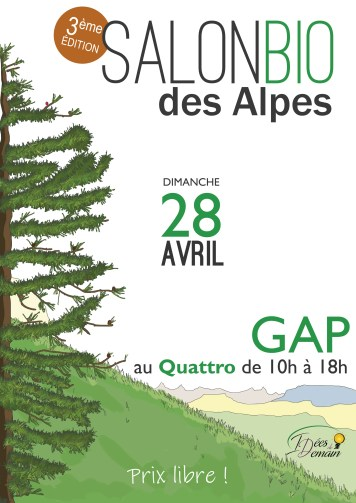 Flyer du salon bio 2019