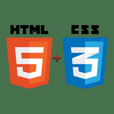 Logo d'HTML 5 et CSS 3