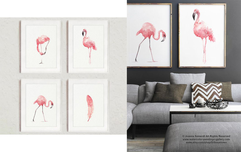 flamingo decor 2