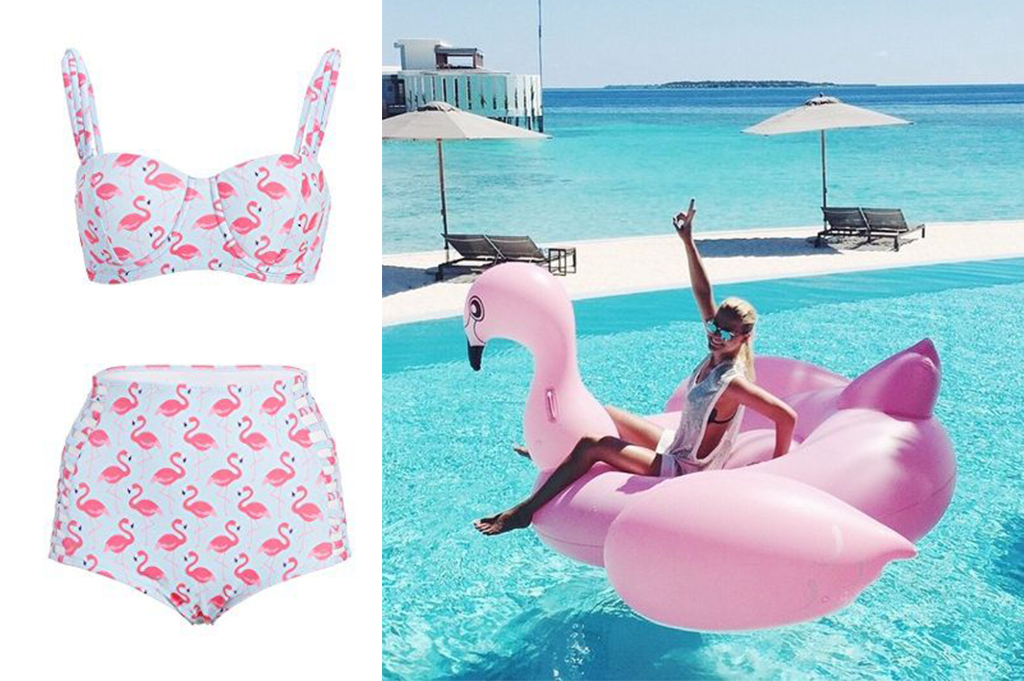 flamingo poolwear 2